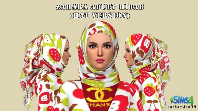 Sims 4 Zahara Collections at Aan Hamdan Simmer93