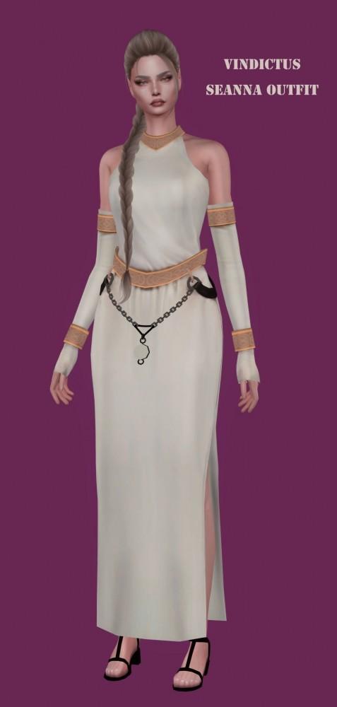 Sims 4 Vindictus Seanna Outfit at Astya96