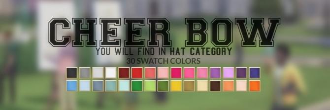 CHEER HAIR & Bow at Candy Sims 4 image 2521 670x223 Sims 4 Updates