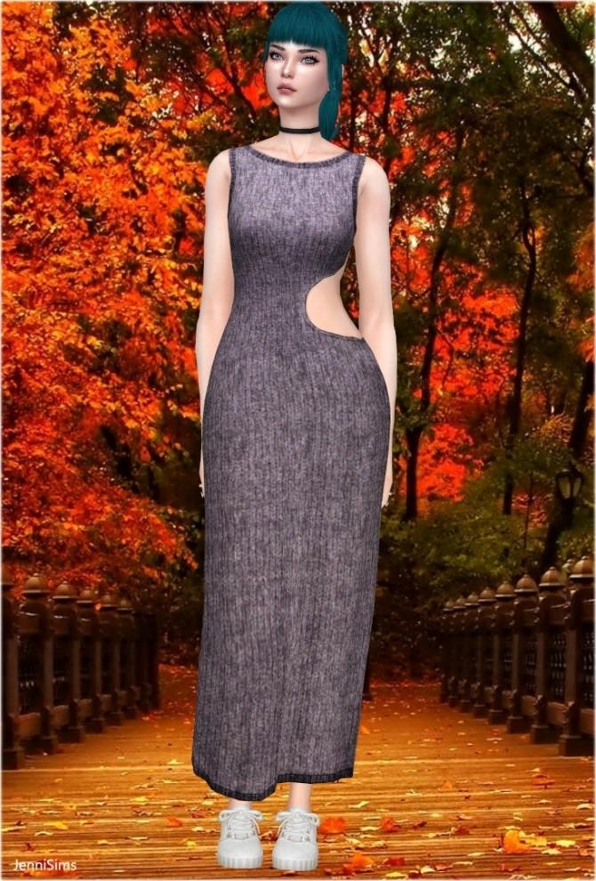 Sims 4 Boho Dress at Jenni Sims
