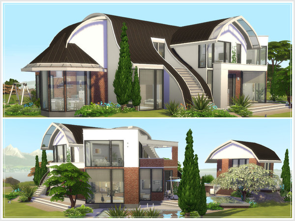 Sims 4 Bonifacio villa by philo at TSR