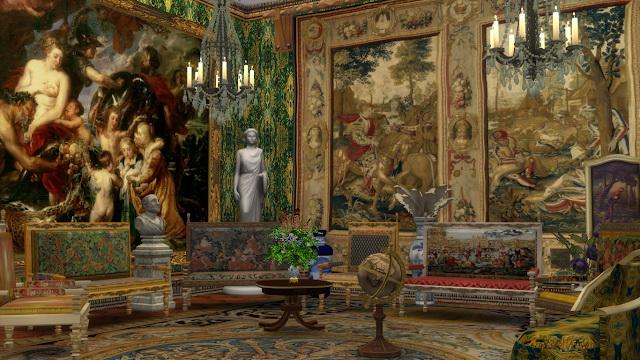 Sims 4 Louis XIII Sofa & Armchair at Regal Sims