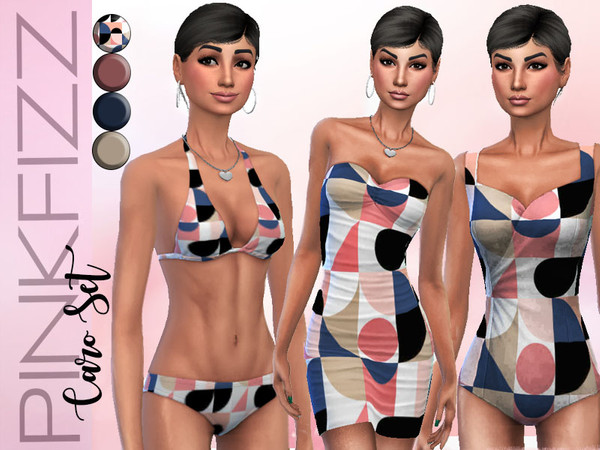 Sims 4 Caro Set by Pinkfizzzzz at TSR