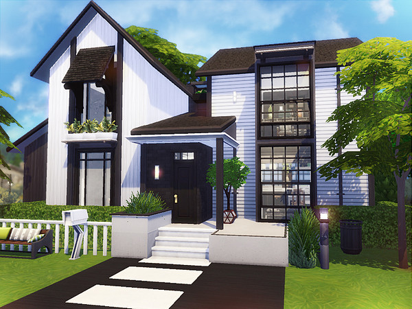 Jouko cosy cottage by Rirann at TSR image 2872 Sims 4 Updates
