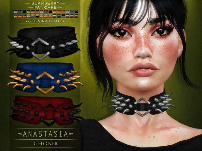 Anastasia choker at Blahberry Pancake image 308 670x503 Sims 4 Updates