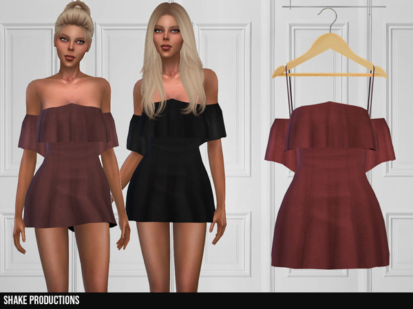 347 Dress by ShakeProductions at TSR image 3102 Sims 4 Updates