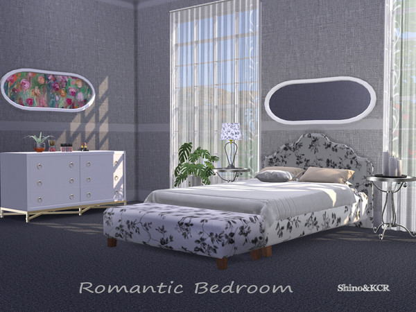 Bedroom Romantic by ShinoKCR at TSR image 3331 Sims 4 Updates