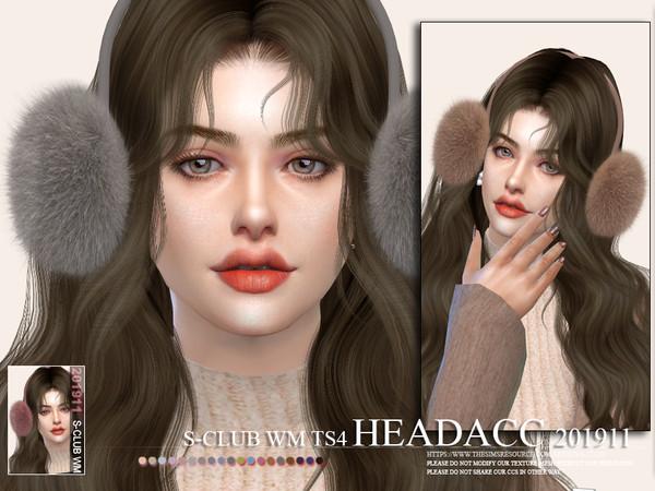 Headacc 201911 by S Club WM at TSR image 3351 Sims 4 Updates