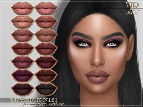 Sims 4 FRS Lipstick N121 by FashionRoyaltySims at TSR