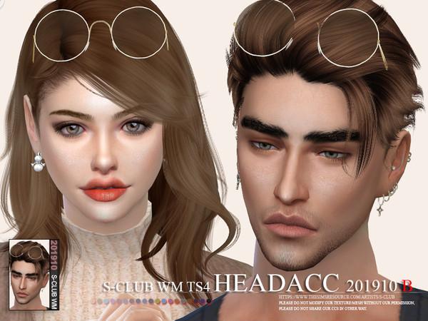 Sims 4 Headacc 201910 B by S Club WM at TSR