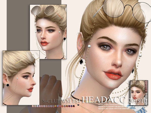 Sims 4 Headacc 201910 by S Club WM at TSR