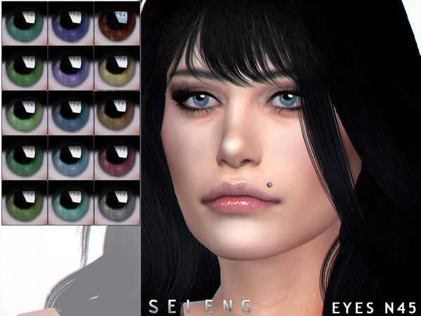 Sims 4 Eyes N45 by Seleng at TSR