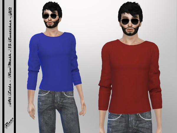 Sims 4 Mens Casual shirt by pizazz at TSR