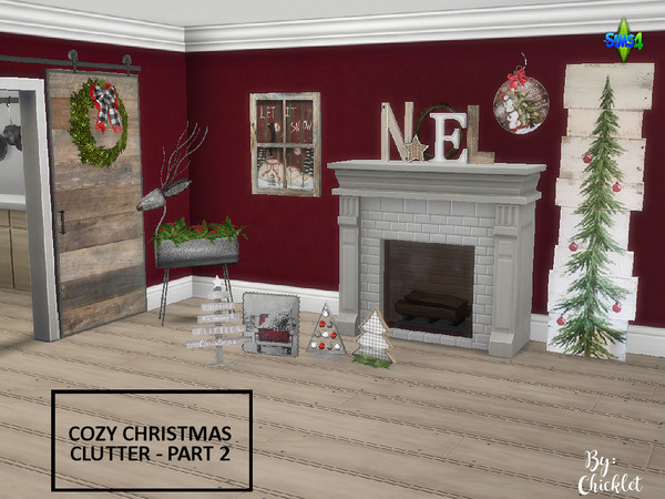 Cozy Christmas Clutter PART 2 by Chicklet453681 at TSR image 416 Sims 4 Updates