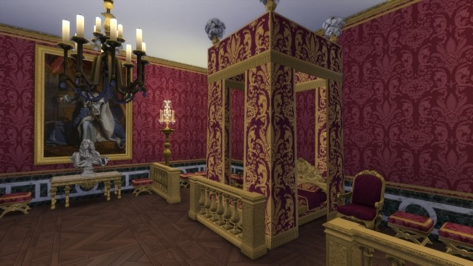 Sims 4 Lit du Roy by TheJim07 at Mod The Sims
