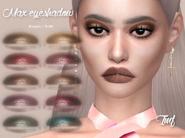 IMF Max Eyeshadow N.120 by IzzieMcFire at TSR image 4212 Sims 4 Updates