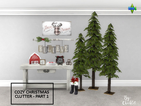 Cozy Christmas Clutter PART 1 by Chicklet453681 at TSR image 422 Sims 4 Updates