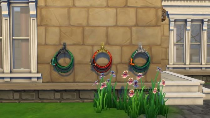 Sims 4 Garden Hose Sprinkler System by Teknikah at Mod The Sims