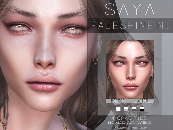 Faceshine N1 by SayaSims at TSR image 4411 Sims 4 Updates