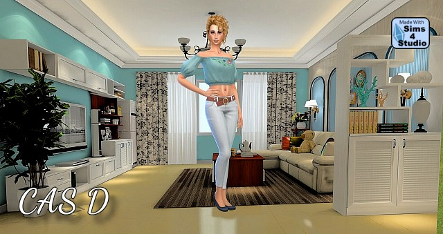 Sims 4 4 CAS Backgrounds by Oldbox at All 4 Sims
