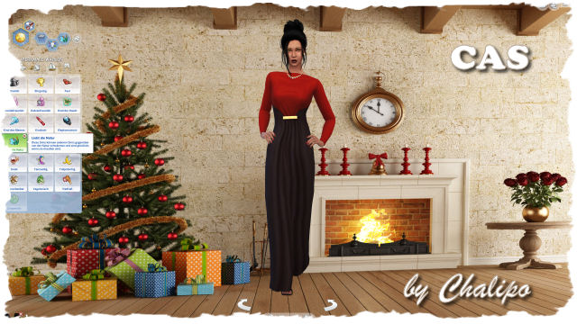 4x Christmas CAS background by Chalipo at All 4 Sims image 4551 Sims 4 Updates