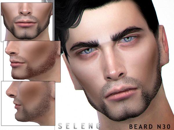 Sims 4 Beard N30 by Seleng at TSR