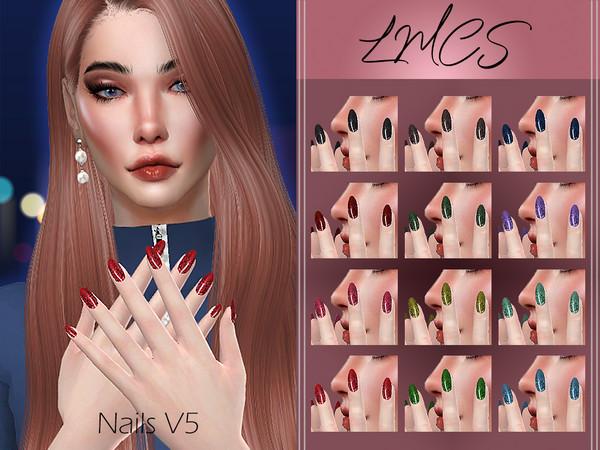 LMCS Nails V5 by Lisaminicatsims at TSR image 4714 Sims 4 Updates