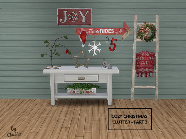 Cozy Christmas Clutter PART 3 by Chicklet453681 at TSR image 485 Sims 4 Updates