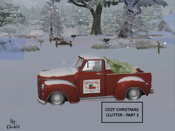Cozy Christmas Clutter PART 3 by Chicklet453681 at TSR image 495 Sims 4 Updates