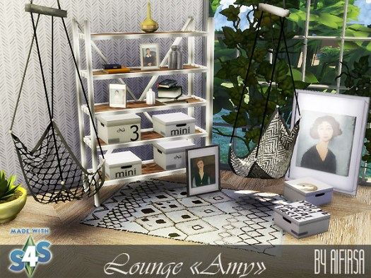 Amy lounge at Aifirsa image 500 Sims 4 Updates