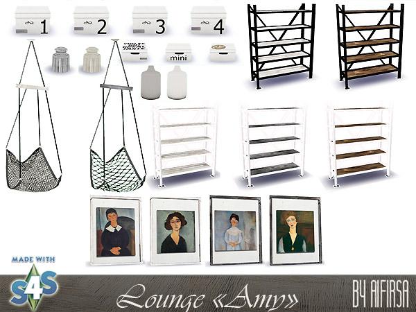 Amy lounge at Aifirsa image 5015 Sims 4 Updates