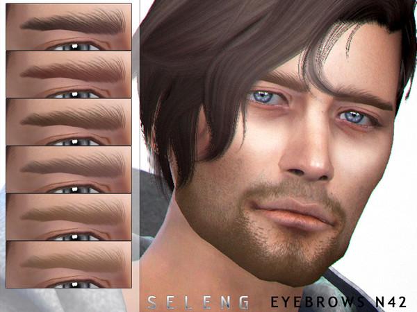 Eyebrows N42 by Seleng at TSR image 5018 Sims 4 Updates