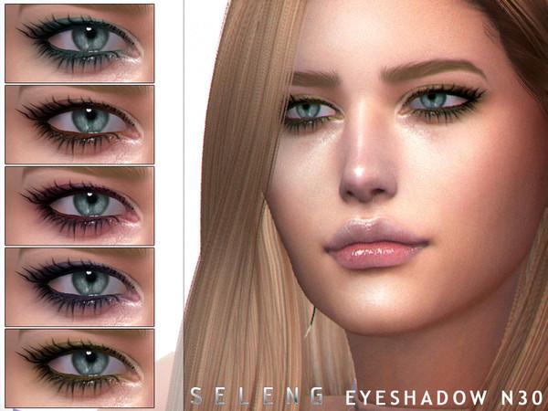 Sims 4 Eyeshadow N30 by Seleng at TSR