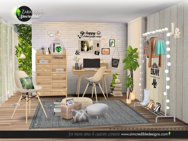 Zara Extras by SIMcredible at TSR image 5122 Sims 4 Updates