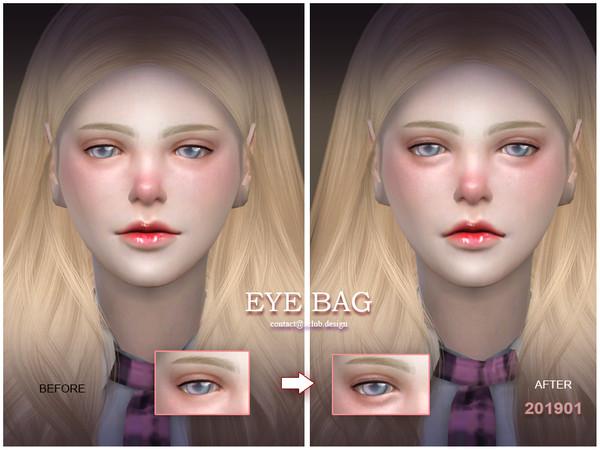 Sims 4 Eyebag 201901 by S Club LL at TSR