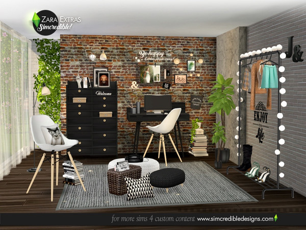 Zara Extras by SIMcredible at TSR image 5218 Sims 4 Updates