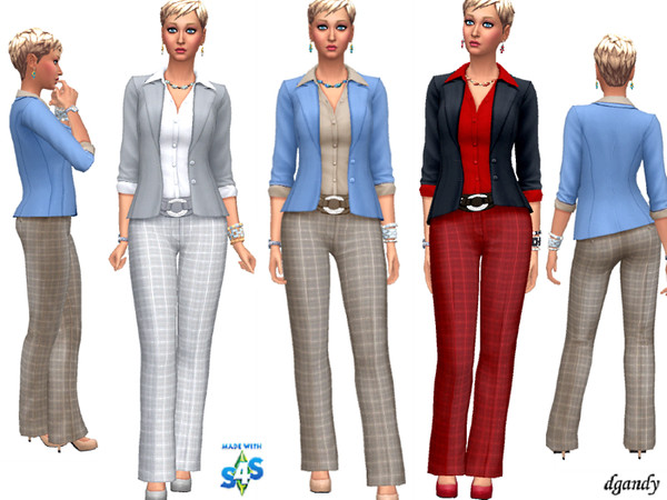 Career Line Power Suit 20191202 by dgandy at TSR image 522 Sims 4 Updates