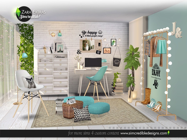 Zara Extras by SIMcredible at TSR image 5317 Sims 4 Updates