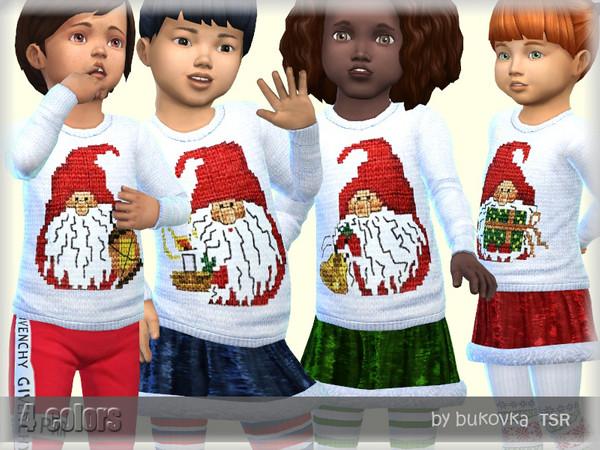 Sims 4 Sweater Gnomes by bukovka at TSR