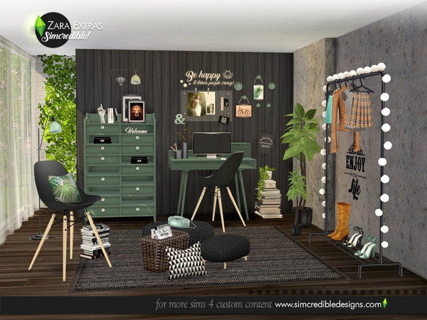 Sims 4 Zara Extras by SIMcredible at TSR