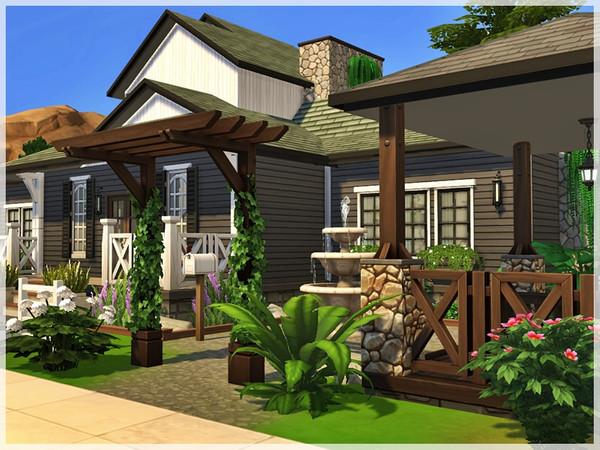 Sims 4 Kayla house by Ray Sims at TSR