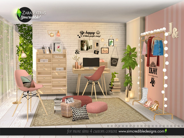 Zara Extras by SIMcredible at TSR image 5517 Sims 4 Updates