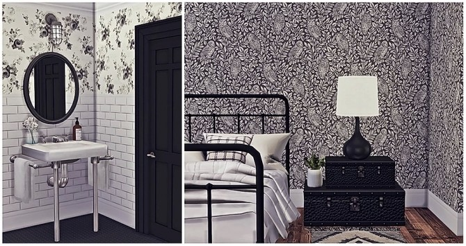 Perfect Farmhouse Wall Collection by Sooky at Blooming Rosy image 5731 670x355 Sims 4 Updates