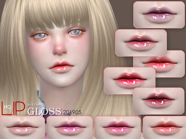 Sims 4 Lipstick 201905 by S Club LL at TSR