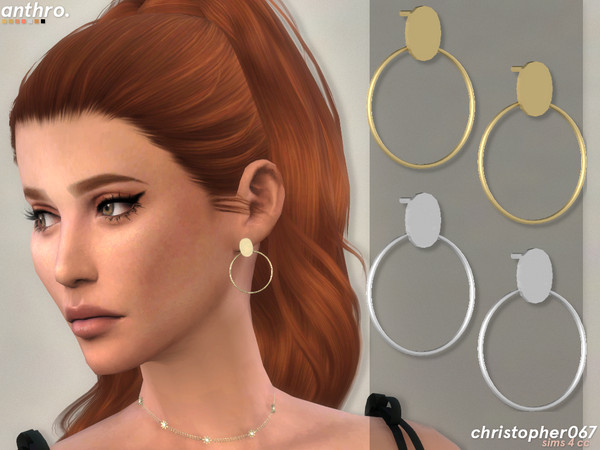 Anthro Earrings by Christopher067 at TSR image 601 Sims 4 Updates