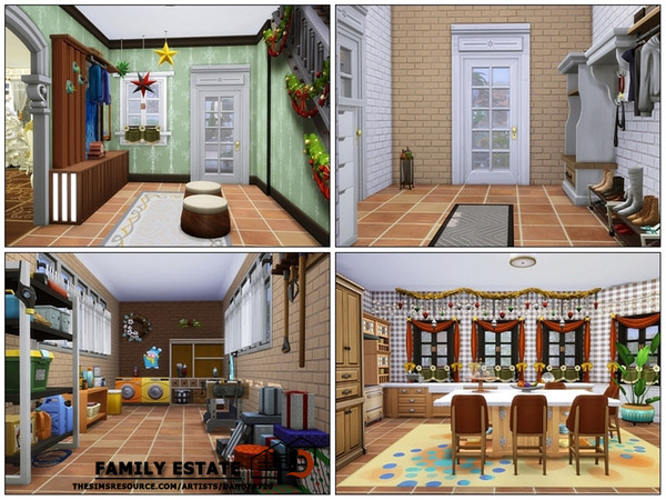 Sims 4 Family estate by Danuta720 at TSR