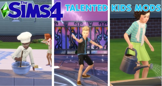 Talented Kids Sim Mods by Zulf Ferdiana at Mod The Sims image 6411 670x357 Sims 4 Updates