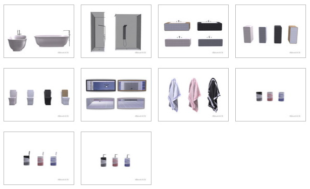 Bathroom Revolution by ShinoKCR at TSR image 6612 Sims 4 Updates