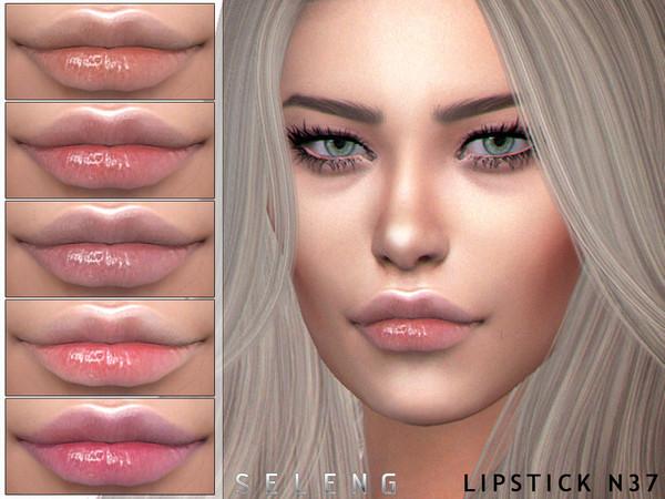 Sims 4 Lipstick N37 by Seleng at TSR