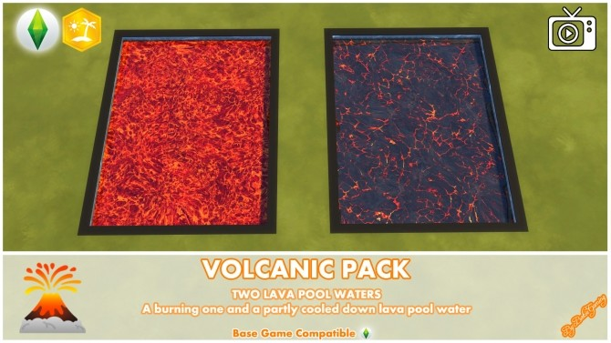 Volcanic Mod Pack by Bakie at Mod The Sims image 683 670x377 Sims 4 Updates
